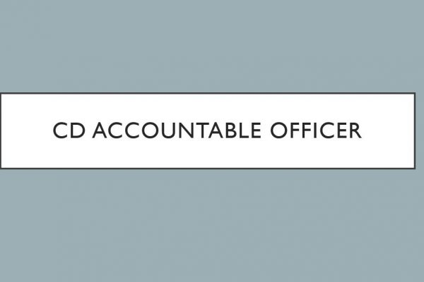 CD Accountable Officer