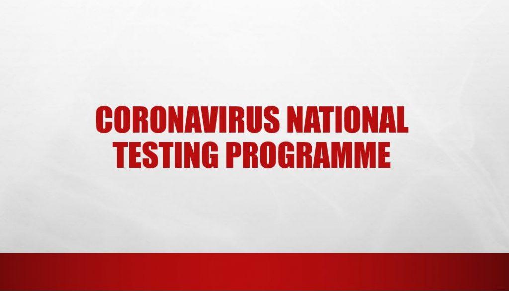 Coronavirus National Testing Programme