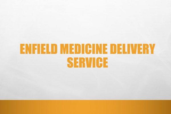 Enfield medicine delivery service
