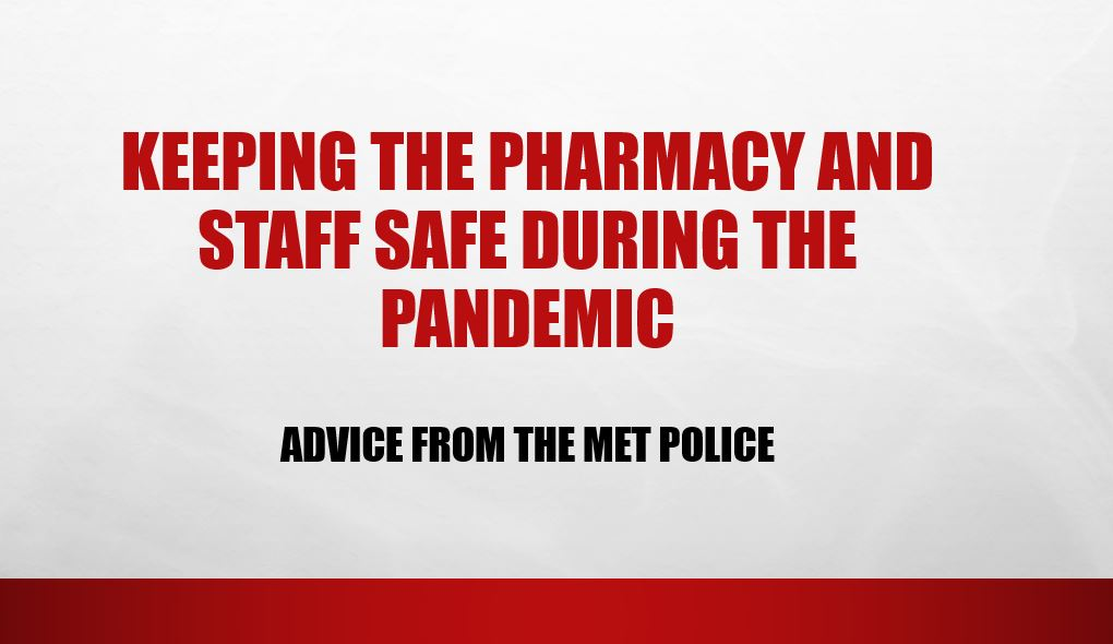 Keeping the pharmacy and staff safe during the pandemic