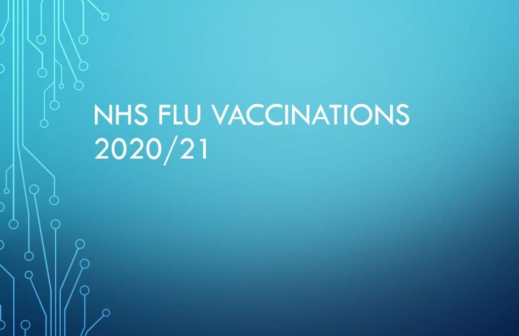 NHS Flu Vaccinations 2020/21