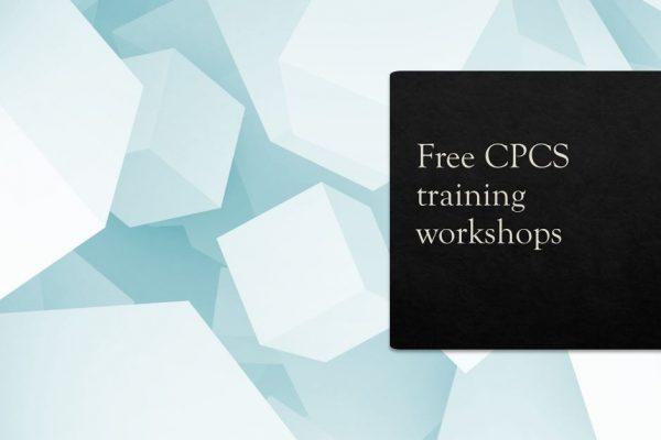 Free CPCS training workshops