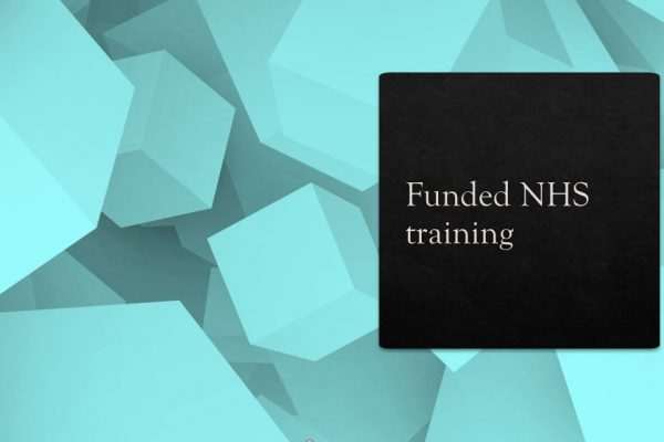 Funded NHS Training